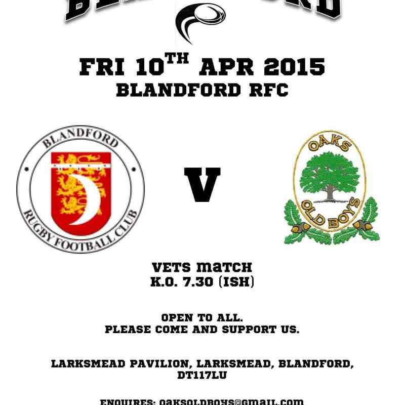 #The Battle OfBlandford Friday 10th April 2015