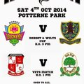 Legend Unite match Saturday 4th October 2014 Potterne Park