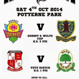 Legend Unite match Saturday 4th October 2014 Potterne Park