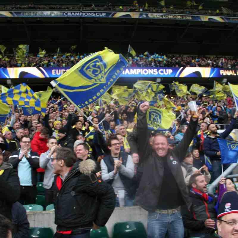 European Rugby CHAMPIONS CUP final Twickenham 2 - 5 - 2015