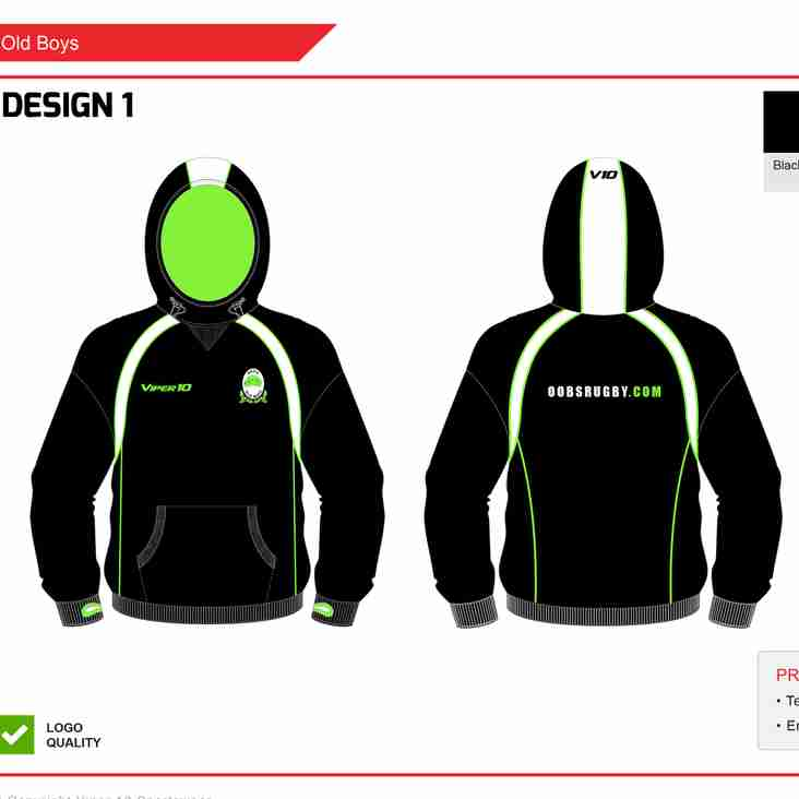 New Squad Hoodys for Bournemouth 7s festival