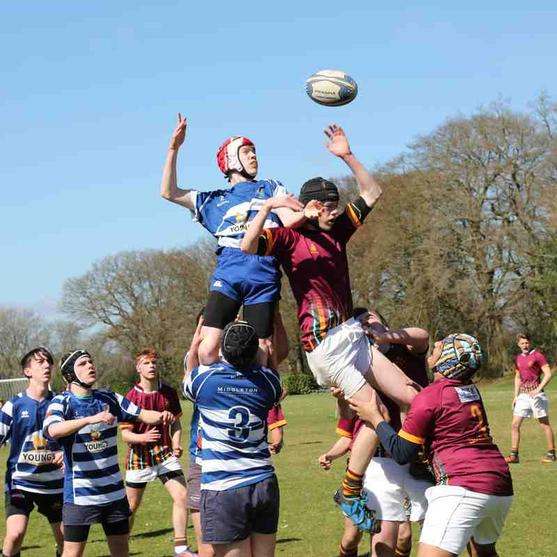 HCRC U16/17-v-Wimbledon Warriors RFC 02.04.17