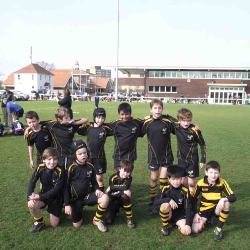 U9's Wasp's Middlesex Festival @ Ealing RFU 11 March 2012