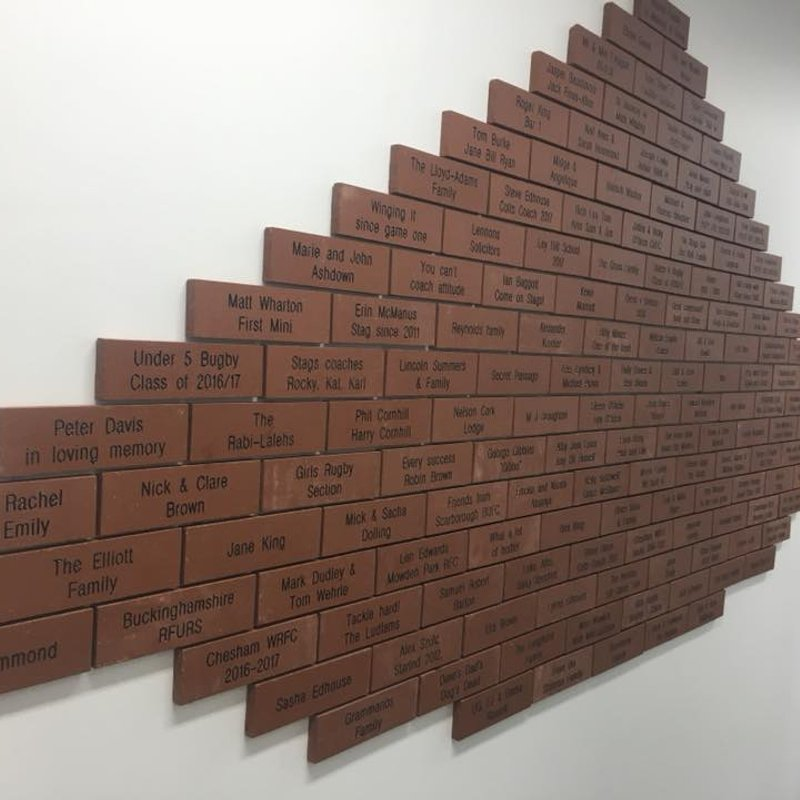 Help us fill our Future Building Wall