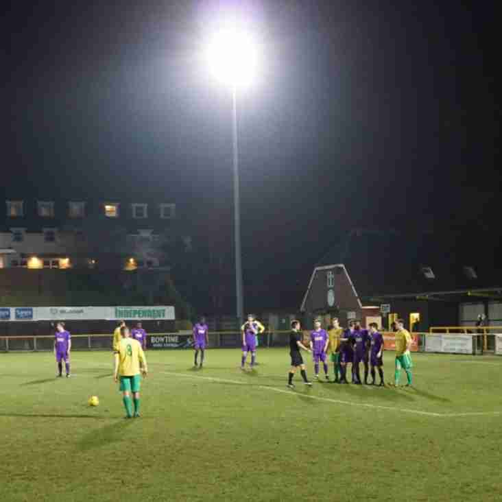Bostik Blog: The Fleet entertain in a -floodlit farewell?