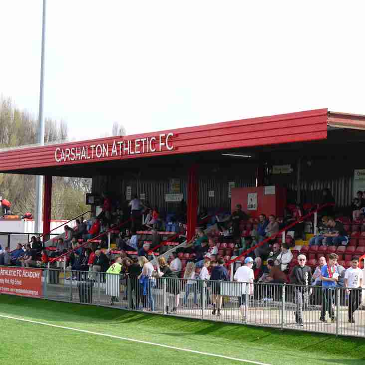 BetVictor Isthmian supporters predictions 2019/20- Carshalton Athletic