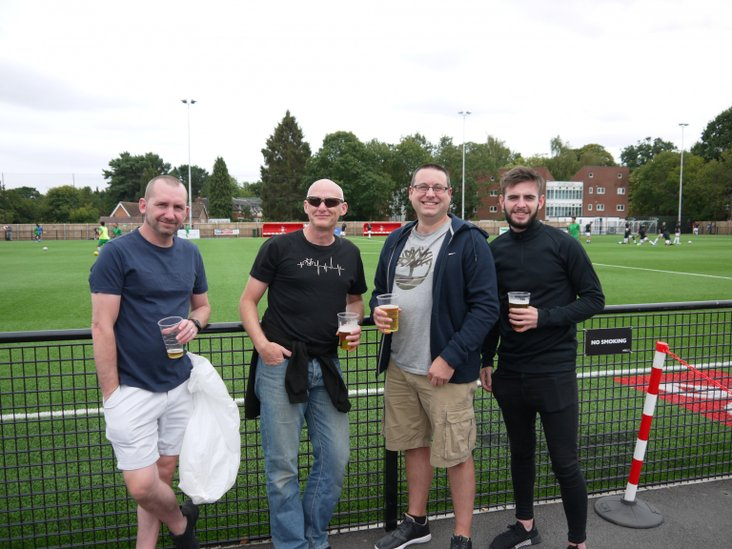Steve, Dave, Kevin and Jack of Bracknell Town