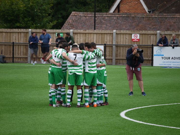 The Abbey huddle