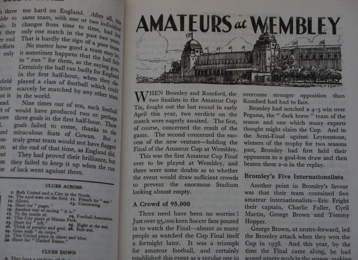 Amateurs at Wembley