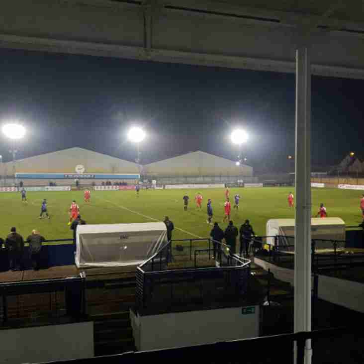 Bostik Blog: Harlow give Wingate & Finchley the blues