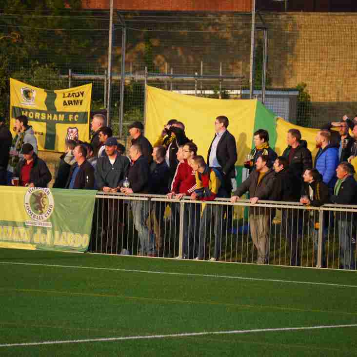 Bostik Matchday: Horsham win- despite lard in their hearts!