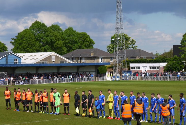 Out teams- and the Angels hordes behind them to the left