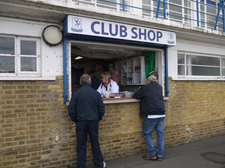 The club shop- like a small version of the cave owned by Aladdin