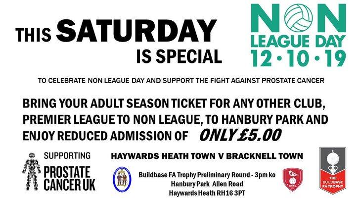 Haywards Heath Town NLD19 poster
