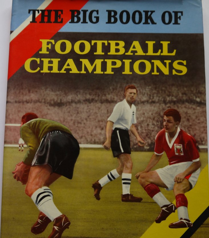 The Big Book of Football Champions- a must for Christmas 1959