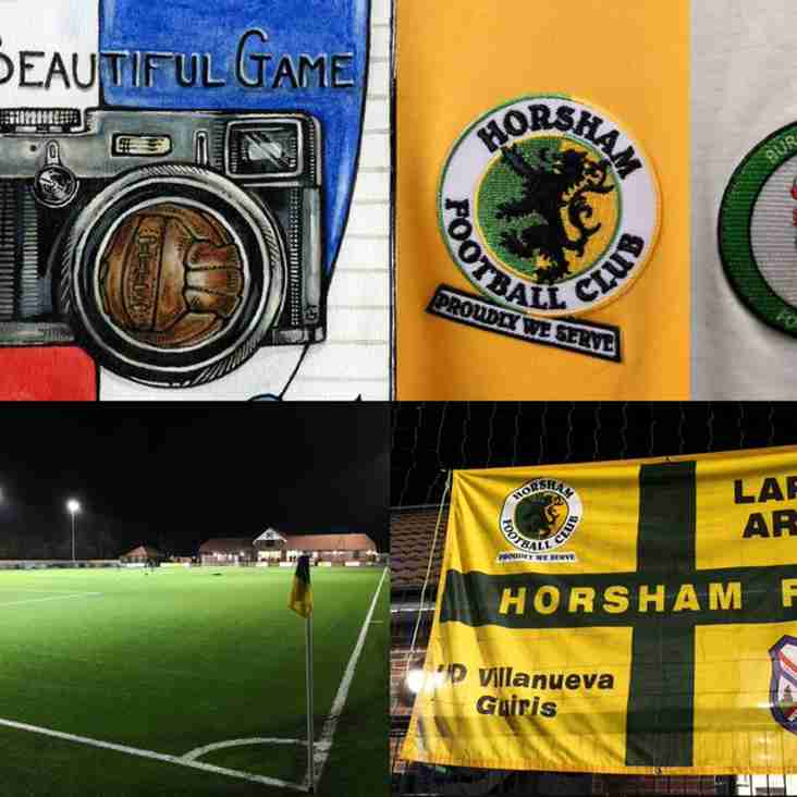 Beautiful Game: Horsham v Burgess Hill Town, Velocity Trophy