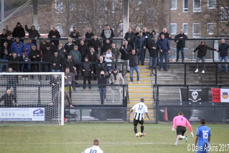 The winning goal- image apparenrly from Dave Adkins