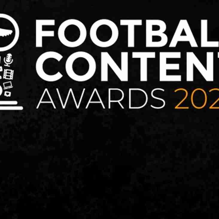 Football Content Awards 2020
