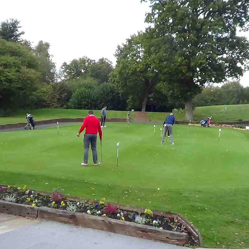Holmer Green FC Golf Day 11 October 2018