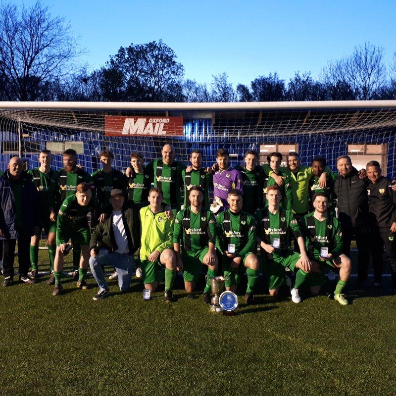 On Saturday night, Kidlington's development team won the OFA intermediate Cup at Oxford City's Court Farm Stadium