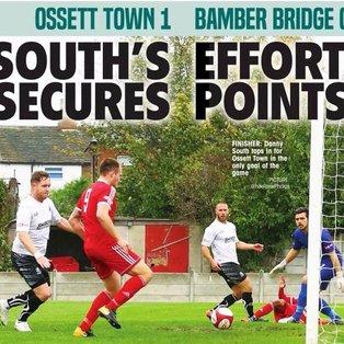 The Reds end Bamber Bridge's 12 game unbeaten run !