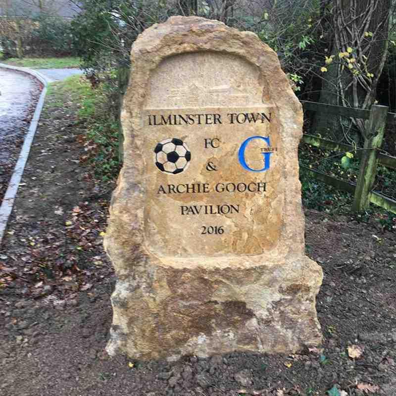 Archie Gooch Pavilion Sign