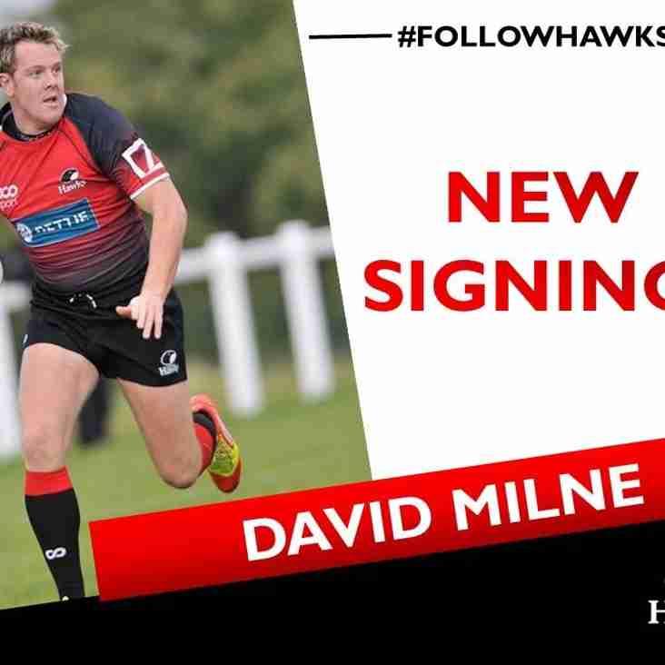Welcome back Davie