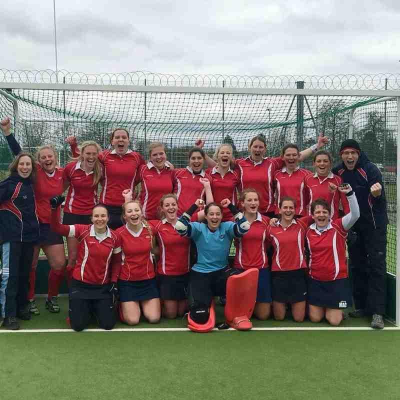 Ladies 1s Final Match vs Eastbourne