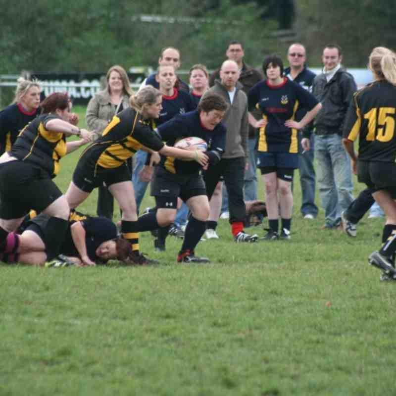 Derby v Coalville Ladies 23-10-11