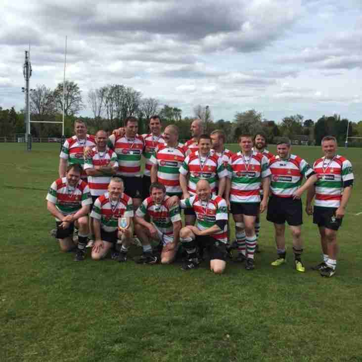 Cheshire Vets Competition: Stockport edged out by Macclesfield in final