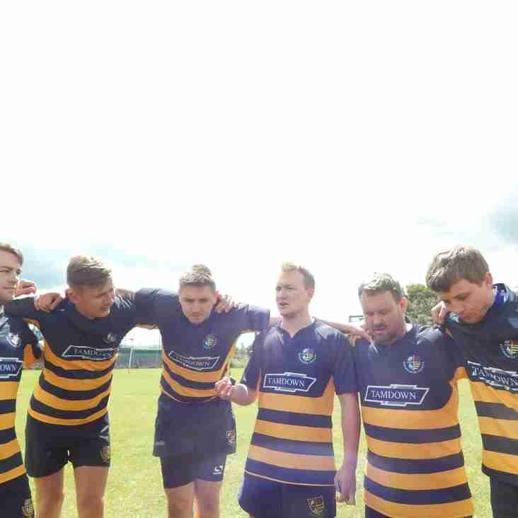 Burnham Senior team at the  Essex Charity 7s