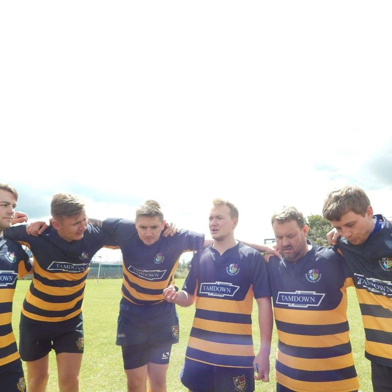 Burnham Senior team at the  Essex Charity 7s