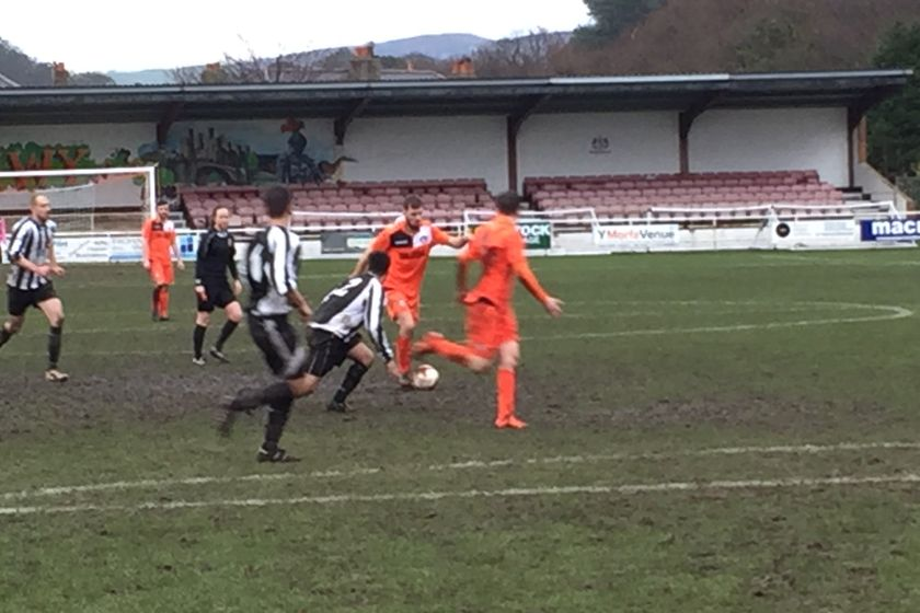 Match Report - Conwy Borough FC v Grange Albion FC