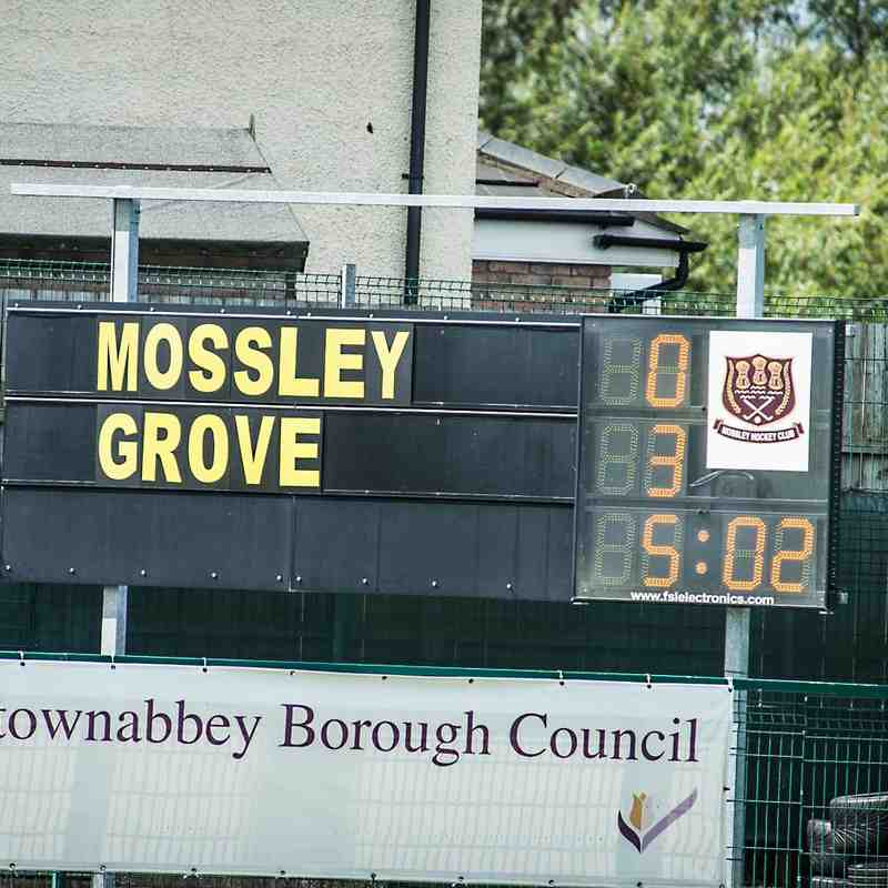 Mossley vs Menzies Grove. 16th August 2015