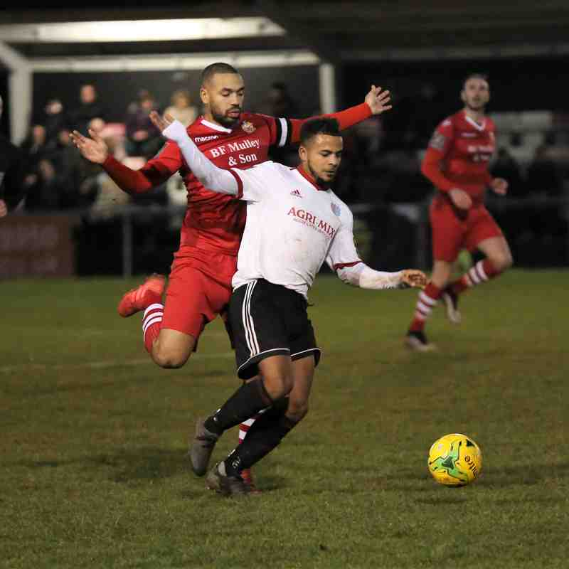 Hornchurch FC v Brightlingsea Regent 28.12.2019