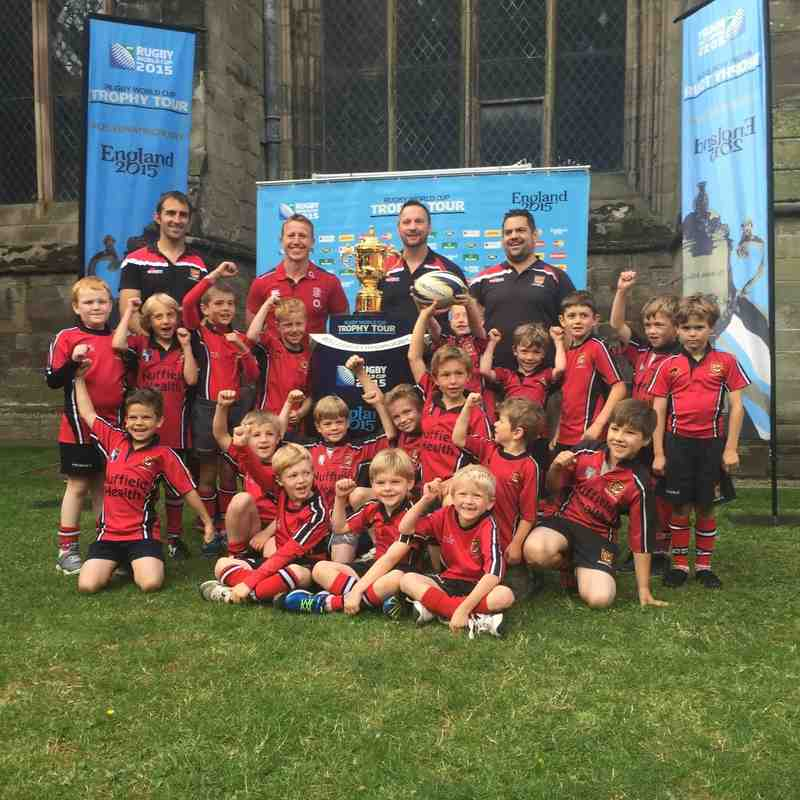 Rugby World Cup Trophy Tour - July 18th 2015