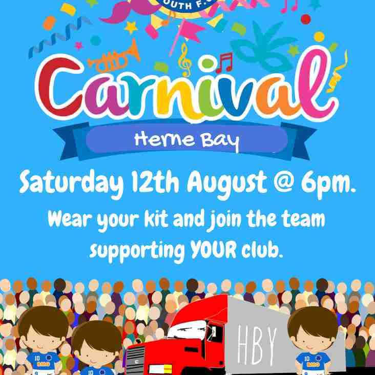 HBY supports Herne Bay Carnival