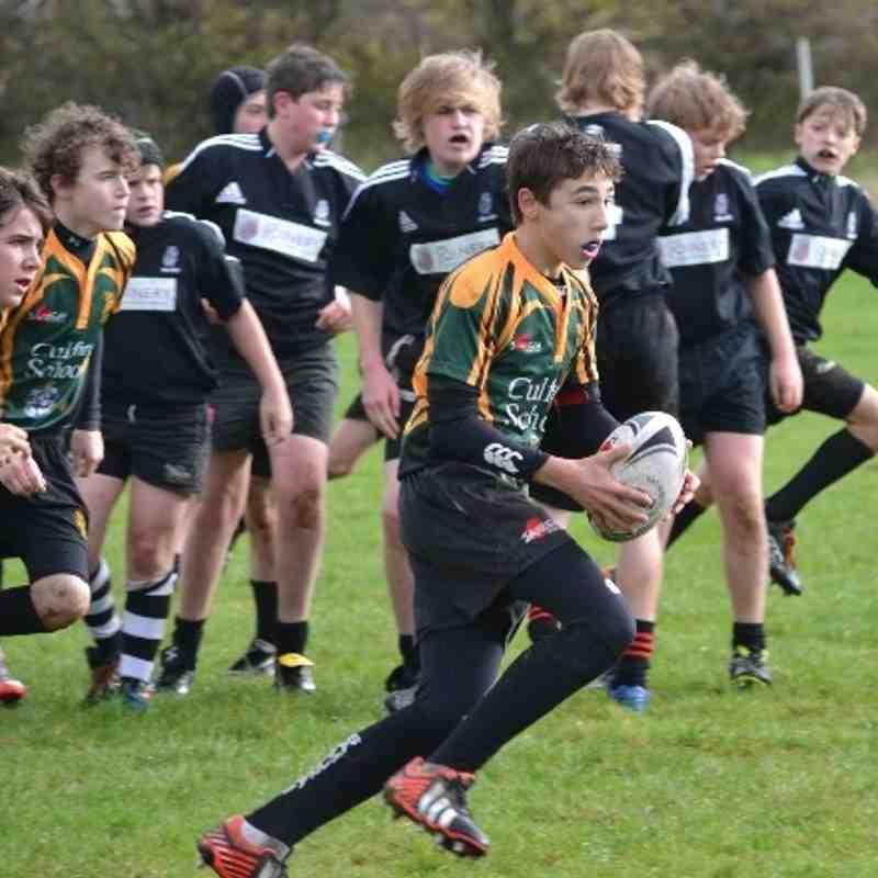 Holt RFC U14s v Bury St Edmunds U14s