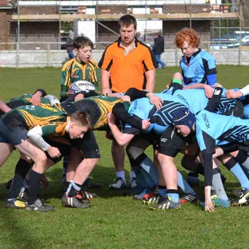 Woodbridge U14s v Bury St Edmunds U14s