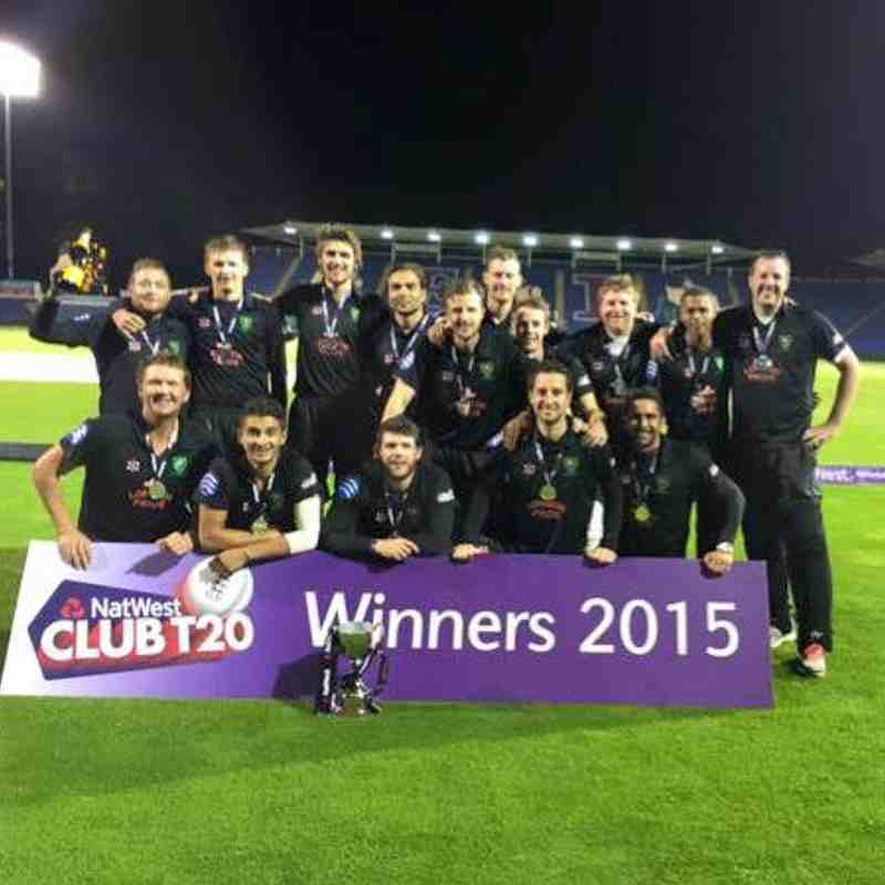 ECB T20 National Knockout Winners 2015