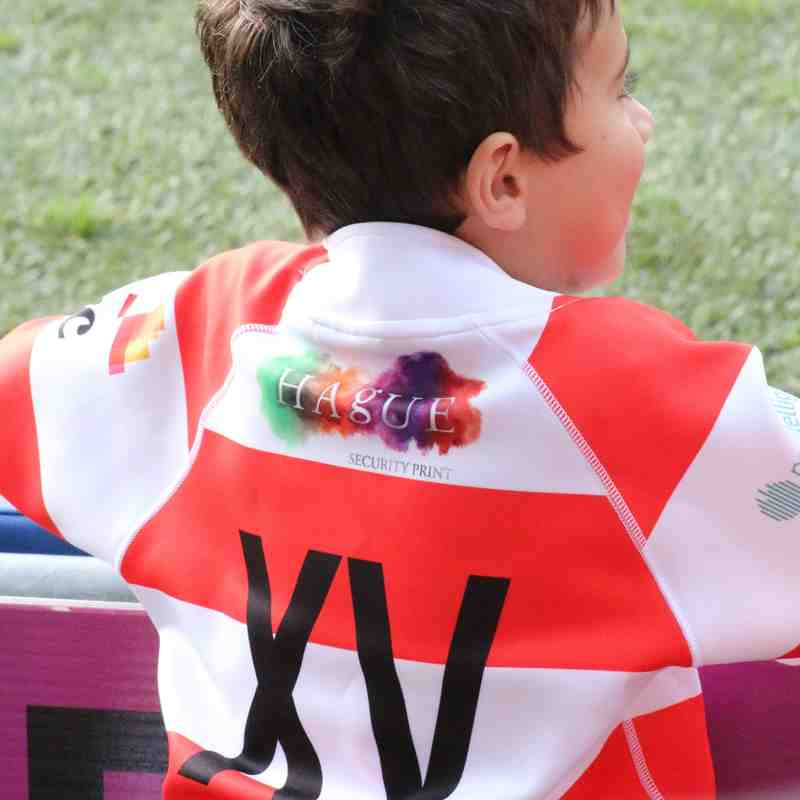Wetherby RUFC U7s half time fun and games at Headingley (Yorkshire Carnegie v Moseley)