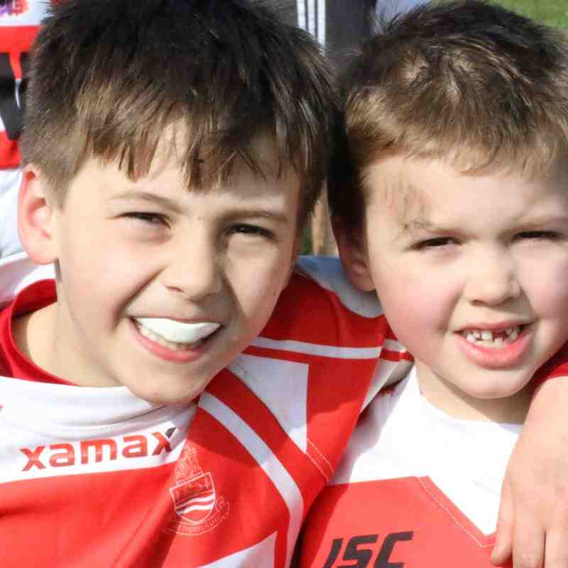 Wetherby U9s V Otley RUFC & North Ribblesdale RUFC (13.03.2016_