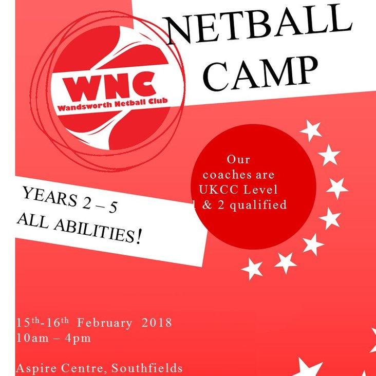 Wandsworth Junior February Skills Camp: Years 2-5<