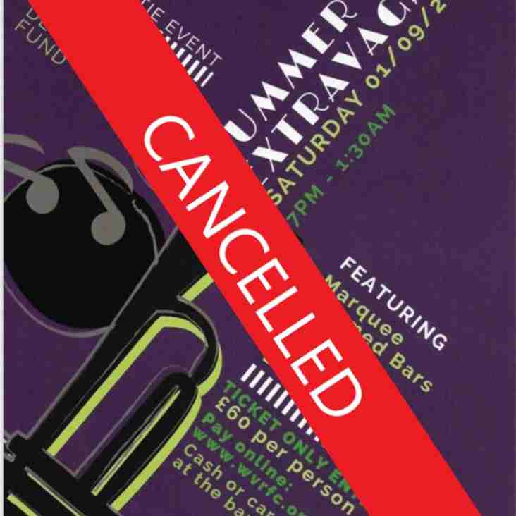 CANCELLED - Weybridge Vandals Summer Ball Extravaganza