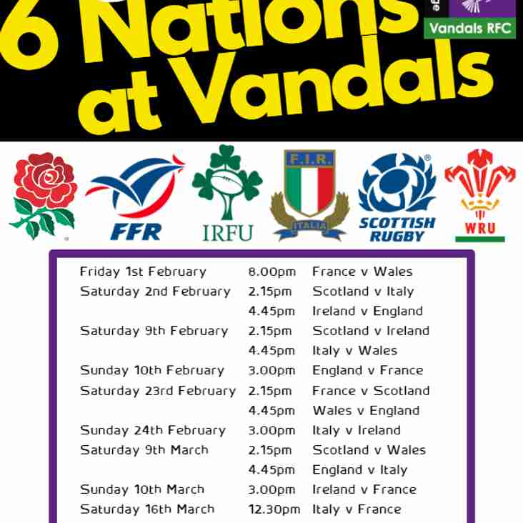 Six Nations at Vandals