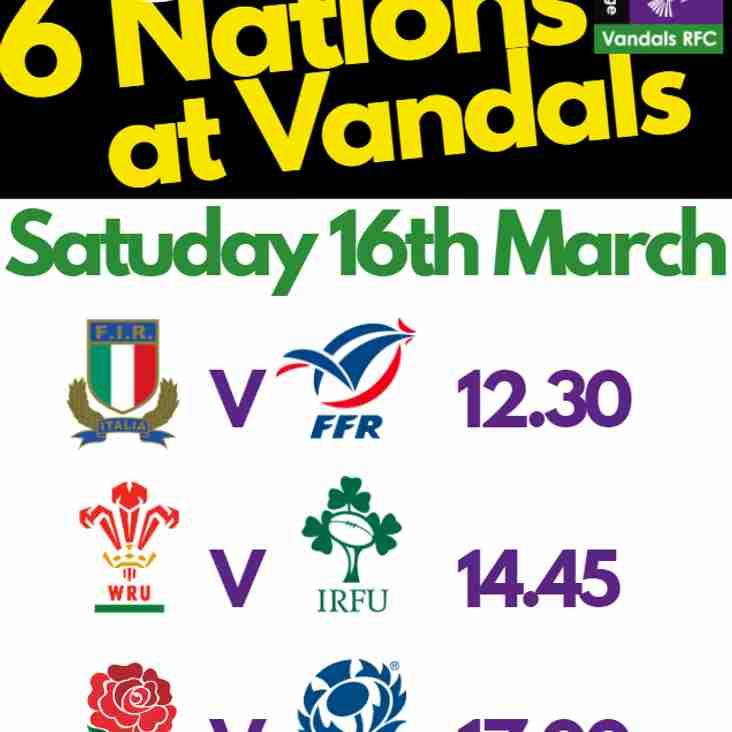 Friday and Saturday at Vandals