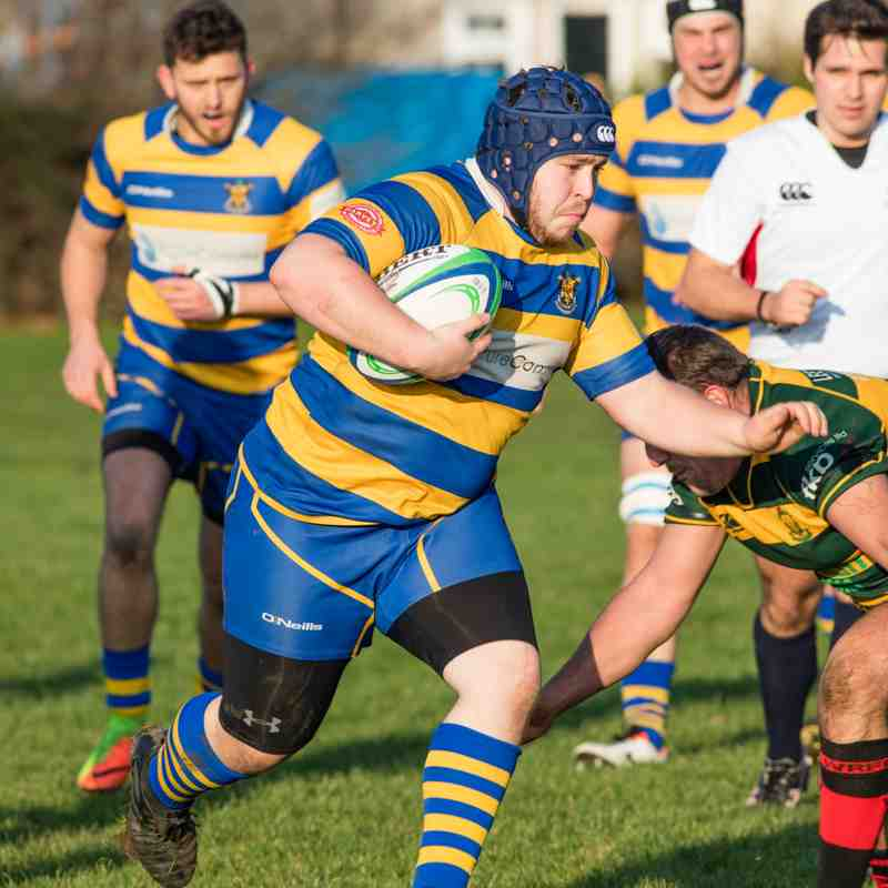 Clevedon Saxons vs Imperial