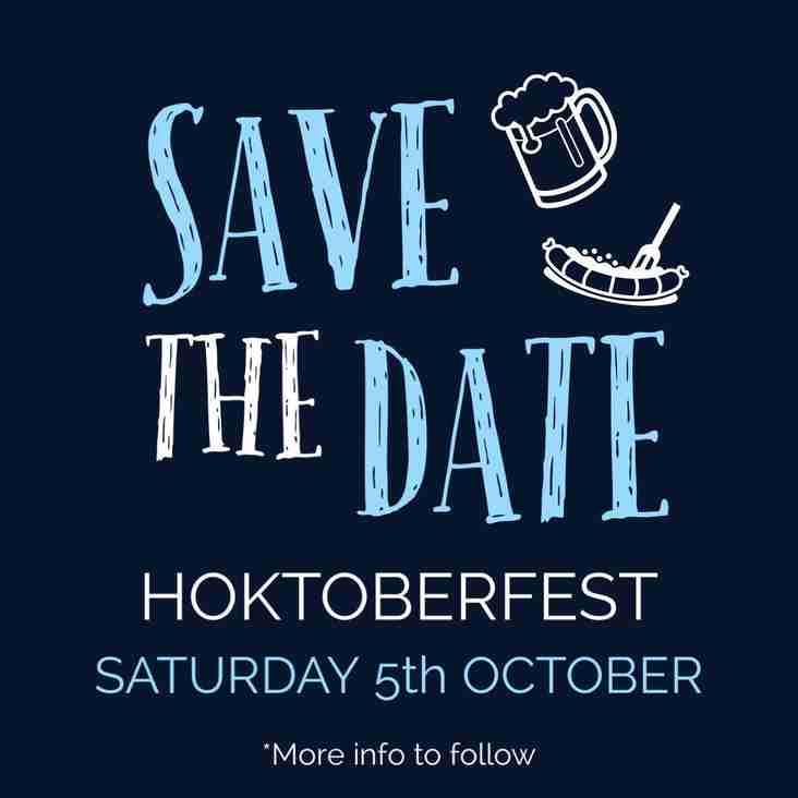 Hoktoberfest @ RHC 5th October 2019