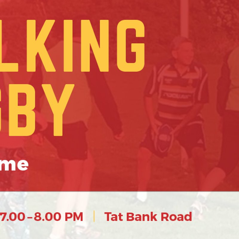 Join us for a taste of Walking Rugby.
