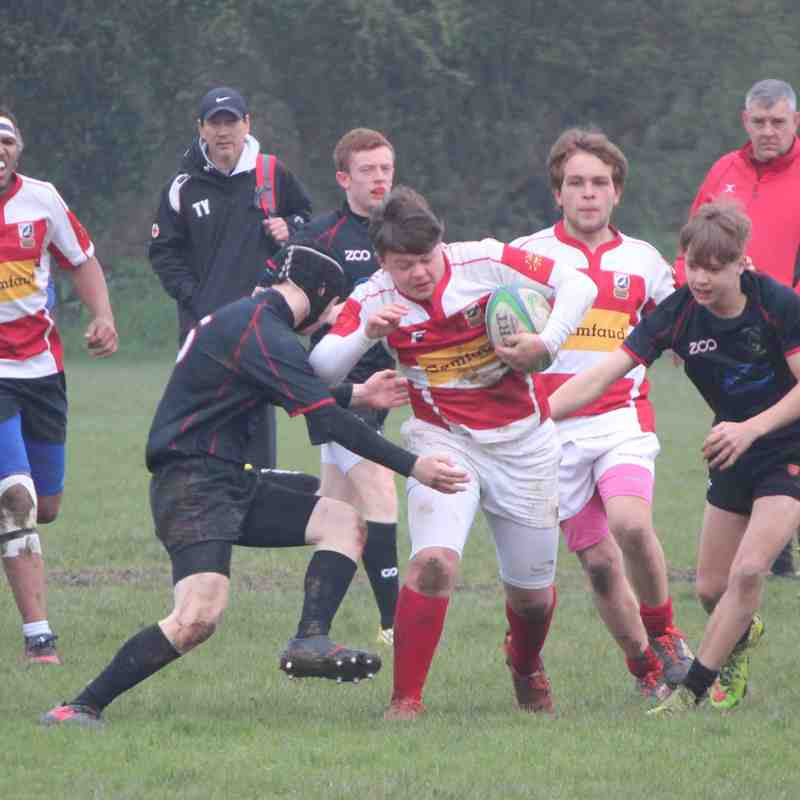 Rochford Away Lost 13-7